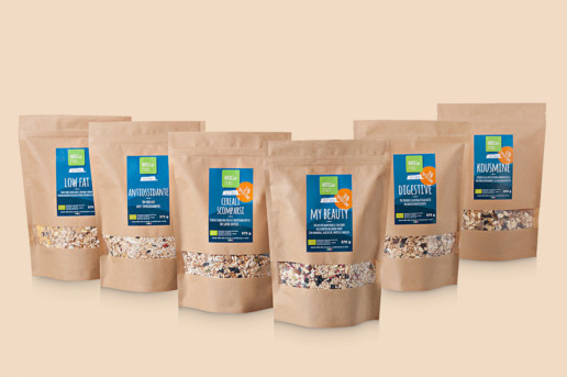 muesli mio packaging - henry & co.