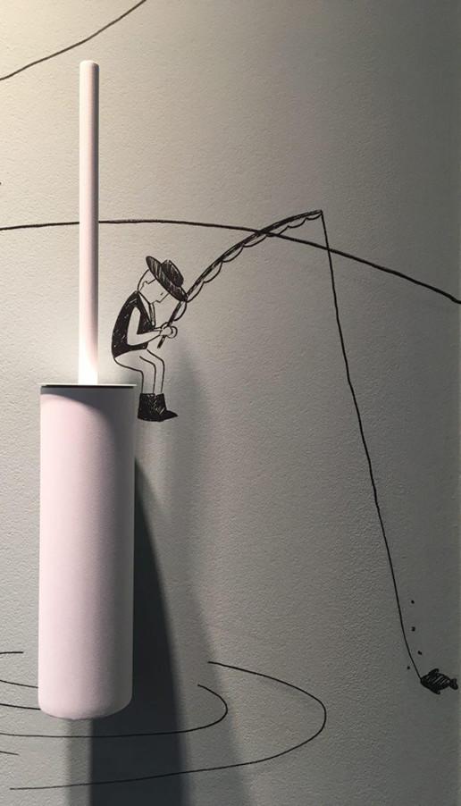 Stand Lineabeta Salone del Mobile 2018 illustrazioni Antonella Manenti Henry&Co. Design